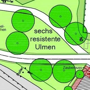 Johanna Wirth - Landschaftsarchitektin - Freiraumplanung Fontanepark Letschin, Planausschnitt