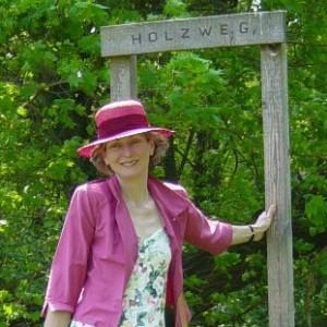 Johanna Wirth - Landschaftsarchitektin - Gartenberatung - Ich auf dem Holzweg
