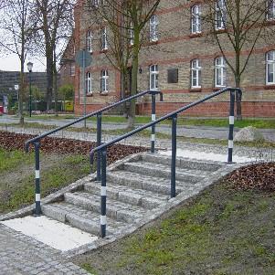 Johanna Wirth - Landschaftsarchitektin - Freiraumplanung Messingwerk, Treppe