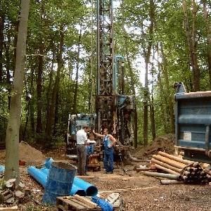 Johanna Wirth - Landschaftsarchitektin - Ökologische Baubegleitung, Brunnenbau im Landschaftsschutzgebiet