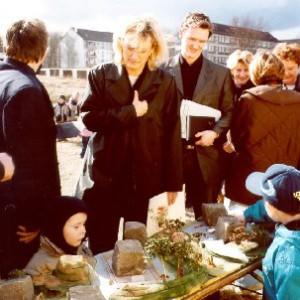 Johanna Wirth, Landschaftsarchitektin, Abenteuerspielplatz, Finanzministerin Dagmar Ziegler